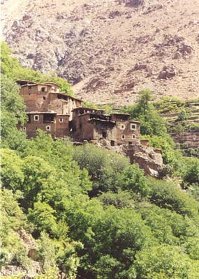 vacation in Morocco trekking foot trips